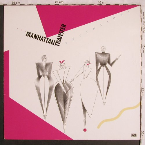 Manhattan Transfer: Extensions, Atlantic(ATL 50 674), D, 1979 - LP - X4318 - 5,50 Euro