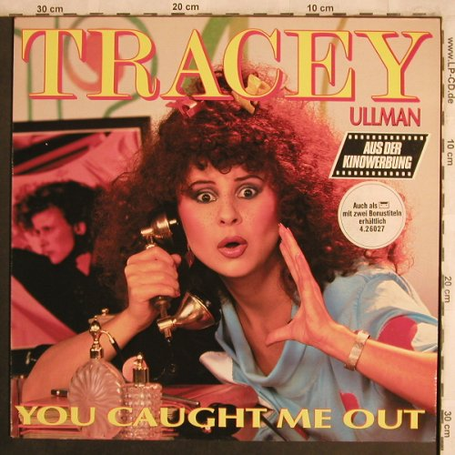 Ullman,Tracy: You Caught Me Out, Stiff(6.26027 AS), D, 1984 - LP - X4445 - 5,00 Euro