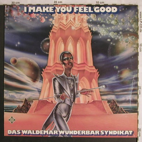 Waldem Wunderbar Syndikat: I Make You Feel Good, m-/vg+, Telefunken(6.22656 AS), D, 1976 - LP - X4450 - 20,00 Euro