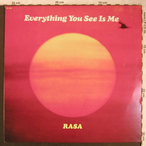 Rasa: Everything You See Is Me, Iskon(RA-106), US, 1978 - LP - X4510 - 7,50 Euro