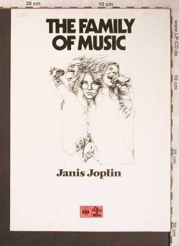 Joplin,Janis: The Family of Music, 2 S.Biografie, CBS aus 88 115(7505), D, german,  - BIO - X4557 - 5,00 Euro
