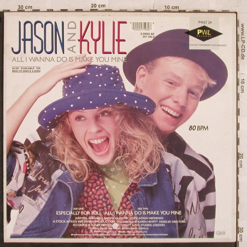 Minogue,Kylie & Jason Donovan: Especially For You+1, PWL(6.20994 AE), D, 1988 - 12inch - X455 - 3,00 Euro