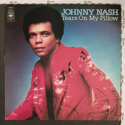 Nash,Johnny: Tears on my Pillow, CBS(CBS 69 148), NL, 1975 - LP - X4608 - 7,50 Euro