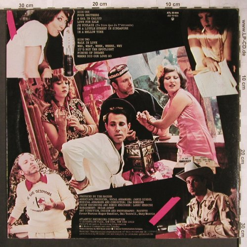 Manhattan Transfer: Pastiche, Atlantic(ATL 50 444), D, 1978 - LP - X4722 - 5,00 Euro