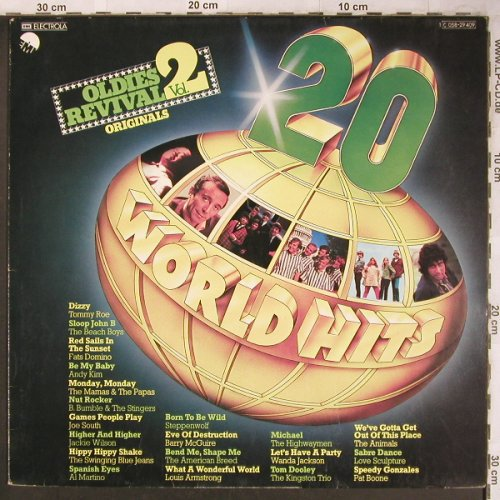 V.A.20 World Hits-Oldies Revival: Vol.2-B.Bumble&Stingers...Pat Boone, EMI(C 058-29 409), D,m-/vg+,  - LP - X4765 - 4,00 Euro