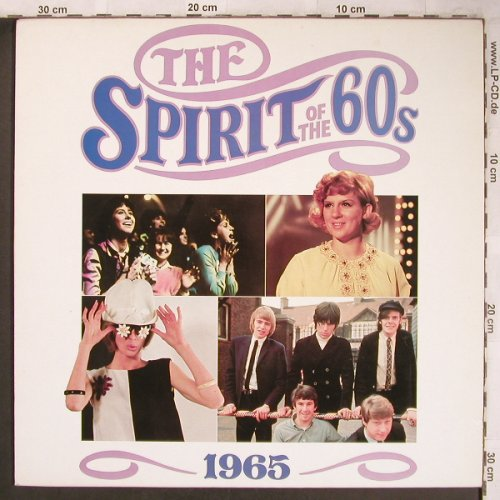 V.A.The Spirit of the 60s - 1965: Kinks...Righteous Brothers, Time Life(TL 532/2), UK, 1990 - 2LP - X4806 - 6,00 Euro