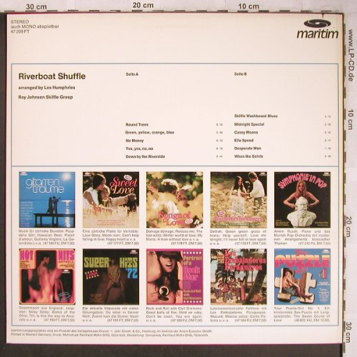 Johnson,Ray  - Skiffle Group: Riverboat Shuffle,arr.Les Humphries, Maritim(47 209 FT), D, 1980 - LP - X4829 - 10,50 Euro