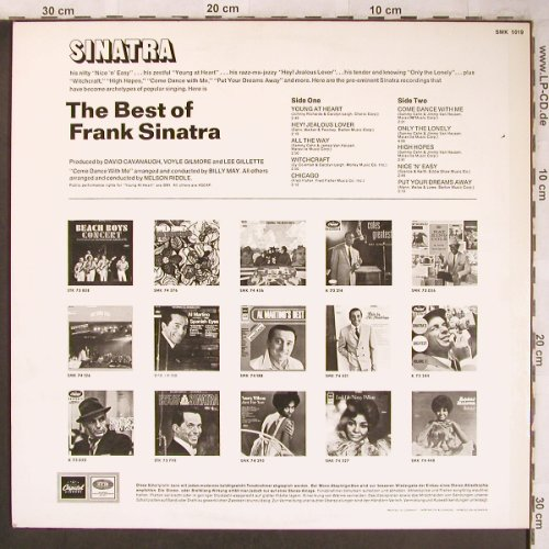 Sinatra,Frank: The Best Of, Capitol(SMK 1019), D,  - LP - X4859 - 7,50 Euro