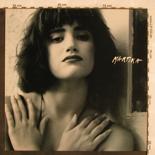 Martika: Same (grey/face/2hands Cover), CBS(463355 1), NL, 1988 - LP - X485 - 5,00 Euro