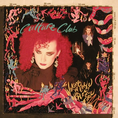 Culture Club: Waking Up With The House On Fire, Virgin(206 700-620), D, 1984 - LP - X487 - 5,00 Euro