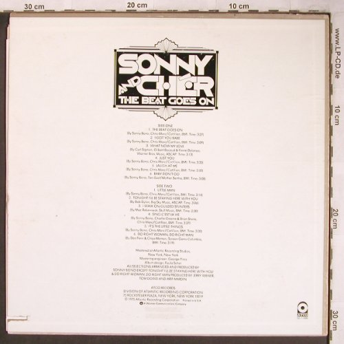 Sonny & Cher: The Beat Goes On, Co, Atco(SD 11000), US,m-/vg+, 1975 - LP - X4908 - 12,50 Euro