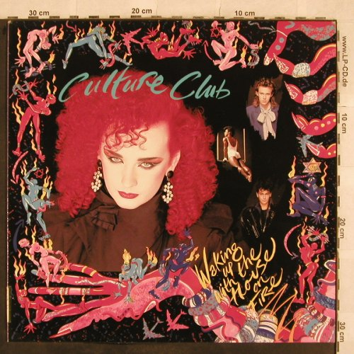 Culture Club: Waking Up With The House On Fire, Virgin,Facts,Foto(206 700-620), D, 1984 - LP - X490 - 10,00 Euro