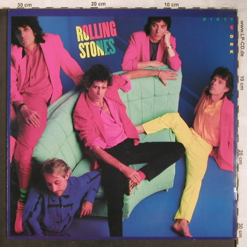 Rolling Stones: Dirty Work, CBS(CBS 86321), NL, 1986 - LP - X4941 - 7,50 Euro