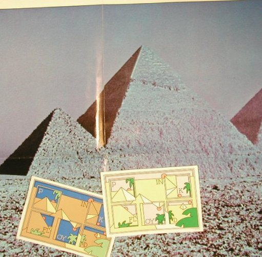 PINK FLOYD: The Dark Side Of The Moon,2+Poster, EMI(1C 064-05 249), D,2*Card, 1973 - Poster - X4946 - 5,00 Euro