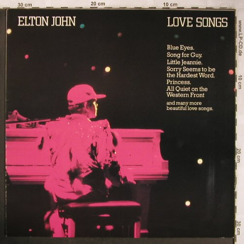 John,Elton: Love Songs, Rocket(6302 230), D,  - LP - X4976 - 5,50 Euro