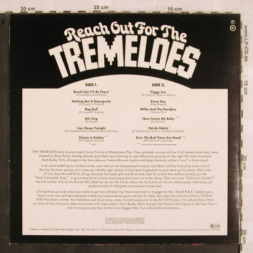 Tremeloes: Reach Out For, Embassy(EMB 31031), NL, 1973 - LP - X506 - 4,00 Euro