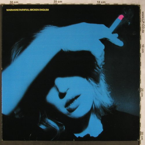 Faithfull,Marianne: Broken English, Island(201 018-320), D, 1979 - LP - X5377 - 5,00 Euro