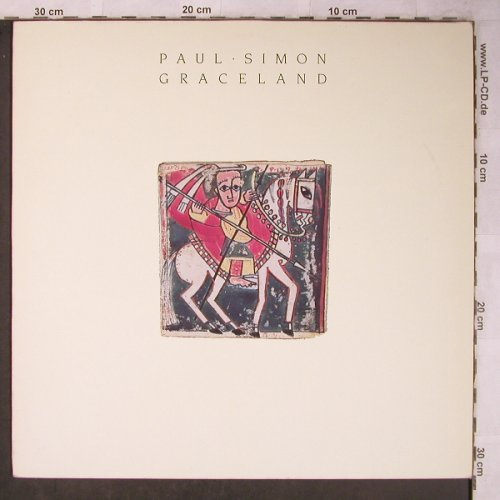 Simon,Paul: Graceland, WB(925 447-1), D, 1986 - LP - X5495 - 5,50 Euro