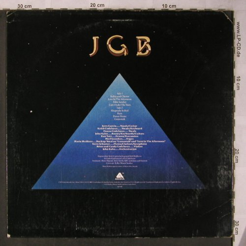 Garcia Band,Jerry: Cats Under The Stars, m-/vg+, Arista(AB 4160), US, 1978 - LP - X5600 - 9,00 Euro