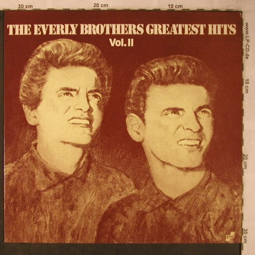 Everly Brothers: Greatest Hits Vol.2, Bellaphon(BI 15138), D, 1974 - LP - X5642 - 7,50 Euro