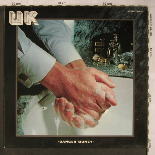 UK: Danger Money, Polydor(2344 133), D, 1979 - LP - X5767 - 7,50 Euro