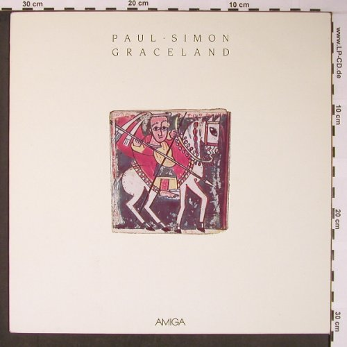 Simon,Paul: Graceland, Amiga(8 56 521), DDR, 1986 - LP - X5892 - 5,00 Euro
