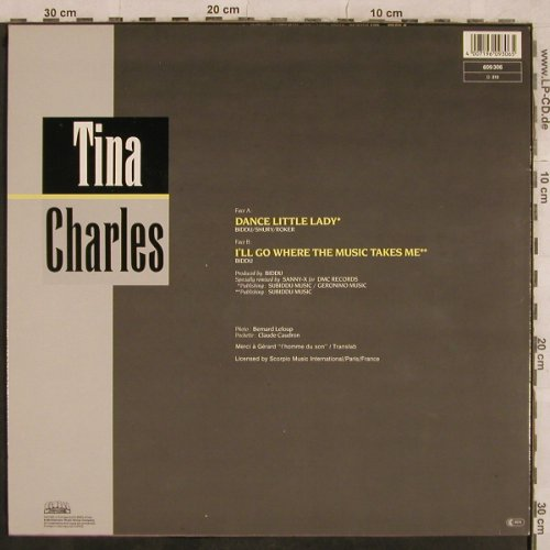Charles,Tina: Dance Little Lady+1, Global(609 306), D, 1987 - 12inch - X591 - 3,00 Euro