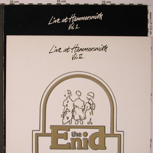 Enid, the: Live at Hammersmith Vol.1 + 2, (1.1vg+)(ENID 1/2), UK,  - LP*2 - X6225 - 10,00 Euro