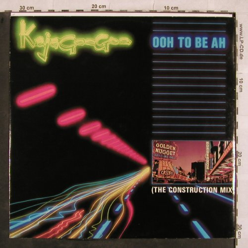 Kajagoogoo: Ooh To Be Ah*2+1(Constr.Mix), EMI(12 EMI 5383), UK, 1983 - 12inch - X679 - 2,00 Euro