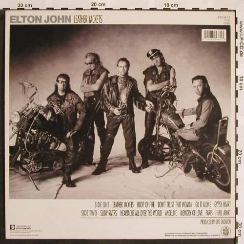 John,Elton: Leather Jackets, Rocket(830 487-1), NL, 1986 - LP - X783 - 5,00 Euro