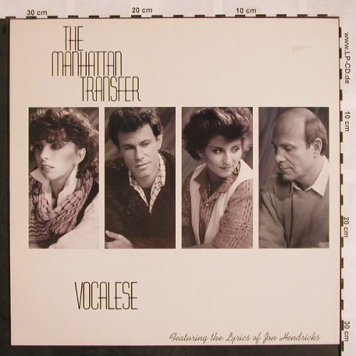 Manhattan Transfer: Vocalese, m-/vg+, Atlantic(781 266-1), D, 1985 - LP - X915 - 5,00 Euro