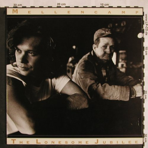 Cougar Mellencamp,John: The Lonesome Jubilee, Foc, Mercury(832 465-1), NL, 1987 - LP - X942 - 5,00 Euro