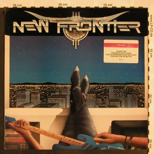 New Frontier: Same - Promo stoc, MIKA/Polydor(835 695-1), US, 1988 - LP - X975 - 7,50 Euro