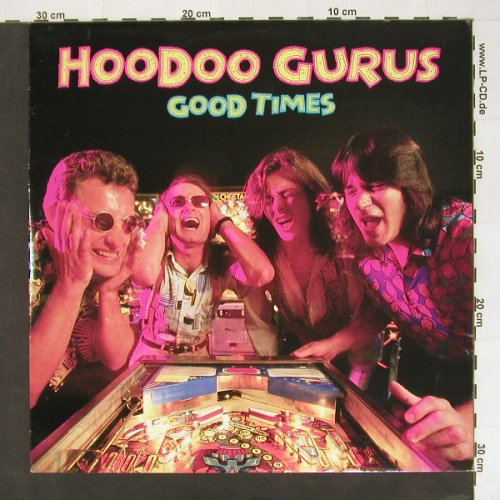 Hoodoo Gurus: Good Times+2, Chrys.(), UK, 87 - 12inch - A1758 - 4,00 Euro