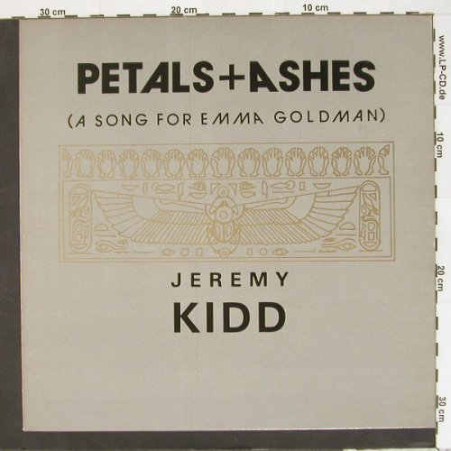 Kidd,Jeremy: Petals+Ashes+1, Self-Drive(), UK, 85 - 12inch - A1876 - 4,00 Euro