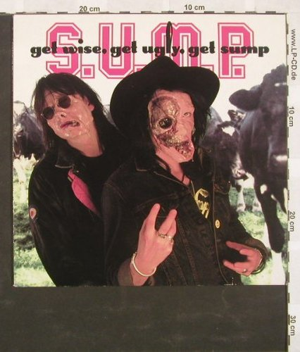 S.U.M.P: Get wise,get ugly,get sump,8Tr., Weserlabel(L2441), D,  - LP - A3619 - 12,50 Euro