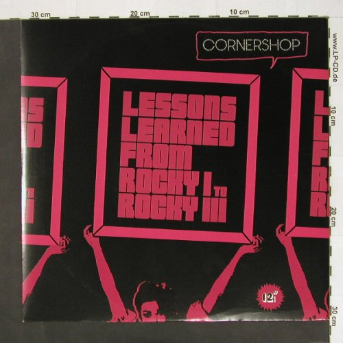 Cornershop: Lessons Learned From Rocky 1-3*2, Wiiija(), UK, 02 - 12inch - A3771 - 4,00 Euro