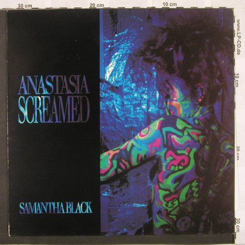 Anastasia Screamed: Samantha Black+2, Roughneck(), D, 90 - 12inch - A4137 - 2,50 Euro