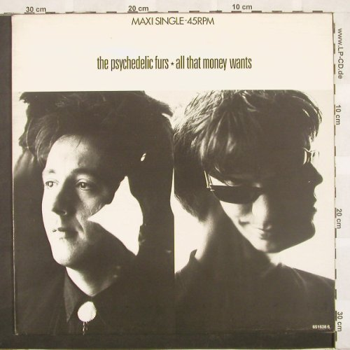 Psychedelic Furs: All That Money Wants+2, CBS(), NL, 88 - 12inch - A4976 - 4,00 Euro