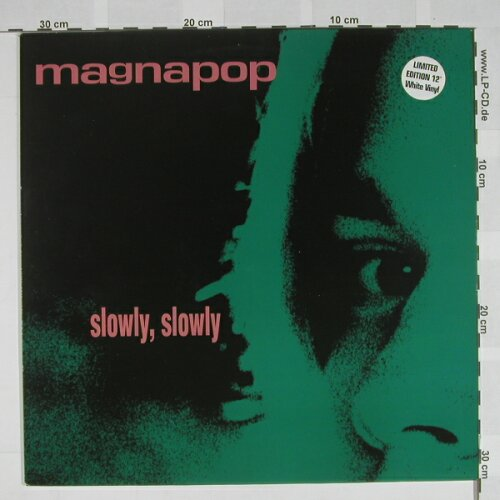 Magnapop: Slowly,Slowly, White Vinyl, Play it ag(), UK,  - 12inch - A5059 - 5,00 Euro
