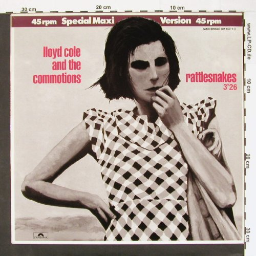 Cole,Lloyd & Commotions: Rattlesnakes+2, Polyd.(), D, 84 - 12inch - A6761 - 4,00 Euro