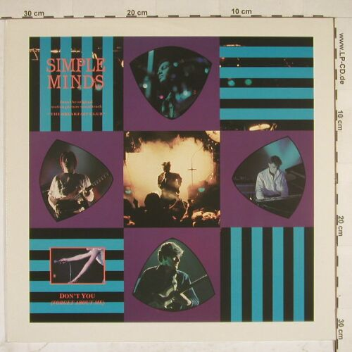 Simple Minds: Don't You(Forget About Me)+1, Virgin(601 766-213), D, 85 - 12inch - A8041 - 2,50 Euro