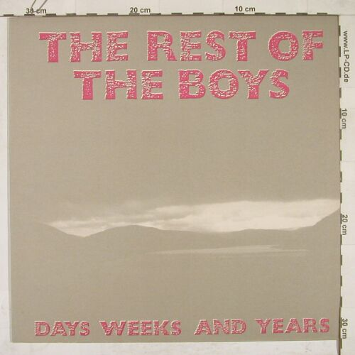 Rest Of The Boys,The: Days Weeks And Years, Restive(RR 004), D, 88 - LP - A8286 - 6,00 Euro