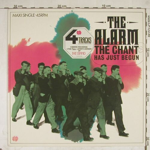 Alarm: Chant Has Just Begun,woc,wol, IRS(A 12.4776), NL, 84 - 12inch - A8692 - 2,50 Euro