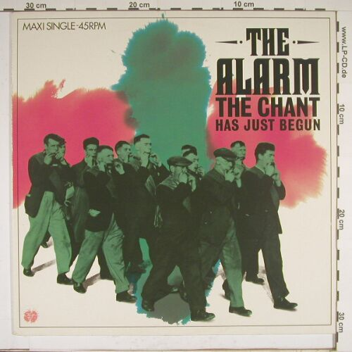 Alarm: Chant Has Just Begun, IRS(A 12.4776), NL, 84 - 12inch - A8958 - 5,00 Euro