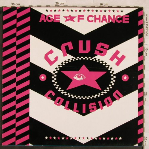 Age Of Chance: Crush Collision Is Sonic Metal Disc, Virgin(208 271-270), D,6 Tr., 1986 - 12inch - B2361 - 4,00 Euro