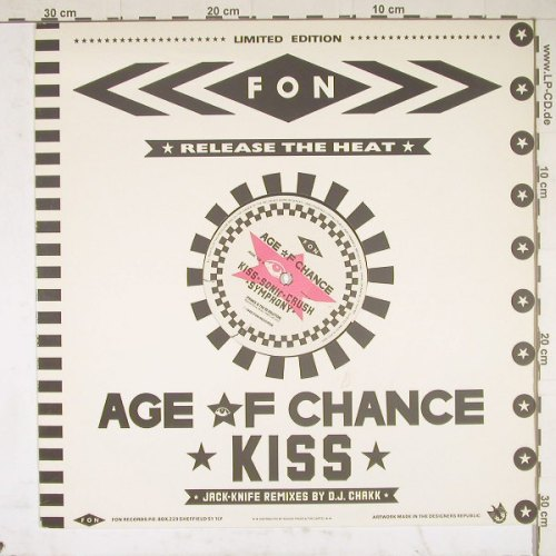 Age Of Chance: Kiss*3+1, Lim.Ed., Fon(AGE L5), UK, 86 - 12inch - B2363 - 4,00 Euro