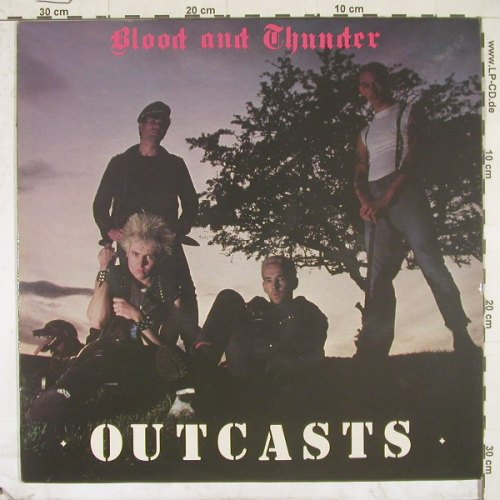 Outcasts: Blood And Thunder, Abstract(ABT004), UK, 82 - LP - B2651 - 25,00 Euro