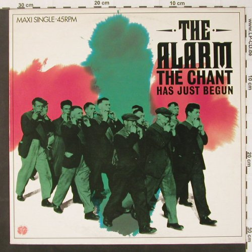 Alarm: The Chant Has Just Begun,Tr.4, IRS(A 12.4776), NL, 84 - 12inch - C2236 - 3,00 Euro