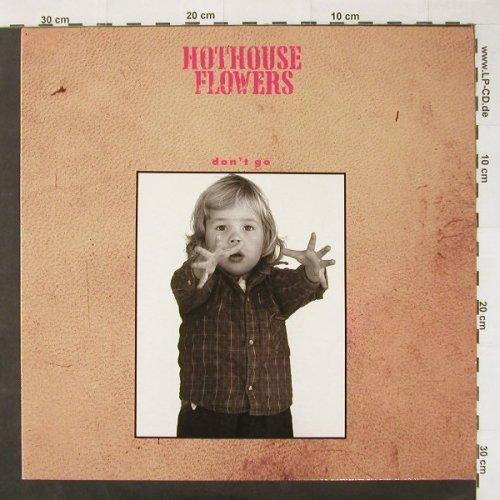 Hothouse Flowers: Don't Go+2, ffrr(886 301-1), D, 88 - 12inch - C2581 - 2,50 Euro